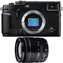X-Pro 2 Mirrorless X-Trans CMOS III Digital Camera w/ 18-55mm Zoom Lens Bundle