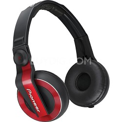 DJ Headphones - Red - HDJ-500-R - OPEN BOX