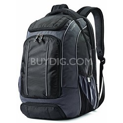 Compact Backpack Black/Grey (56009-1062)