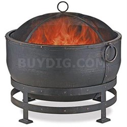 "25.2""H Wood Burning Firebowl"