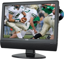 TFDVD1574 15 inch LCD HDTV/Monitor with Slot-Loading DVD Player