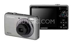"SL202 10MP/ 3X OPT/ 2.7"" LCD Digital Camera (Silver)"