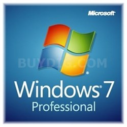 64-bit Windows 7 Professional - FQC-08289