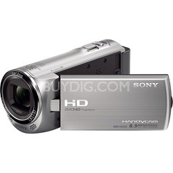 HDR-CX220/S Full HD Camcorder (Silver) - OPEN BOX