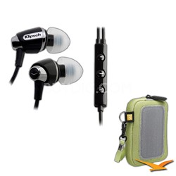 Image S4i In-Ear Headset with Mic and 3-Button Remote Headphones Refurbished