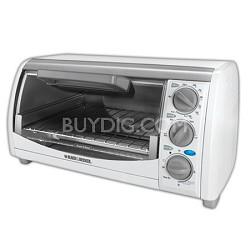 TRO490W Toast-R-Oven Classic 4-Slice Countertop Oven - White