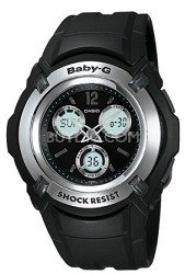 BG1500A-1B - Baby-G Atomic Ana-Digi Black Watch