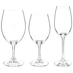 Ouverture Red and White Magnum Glasses and Champagne Flute - Pay for 8 Get 12