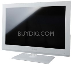 """32"""" Class LED HDTV Smart TV with WiFi (White)"""