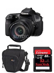 EOS 60D 18 MP CMOS Digital SLR Camera w/ 3.0-Inch LCD and EF-S 18-200mm  Kit