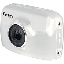 High-Definition Action Camera, 720p Wide-Angle Camcorder With 2.0 Screen- White