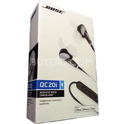 QuietComfort 20I Acoustic Noise Cancelling Headphones - OPEN BOX