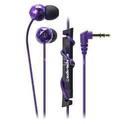 ATH-CKF303PL FashionFidelity BIJOUE In-ear Headphones Purple