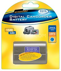 BP-815 1500mAh Lithium Battery for Select JVC Camcorders