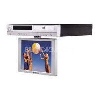 10.2 inch Under Cabinet flat screen LCD- Drop Down Multifunctional TV - Silver