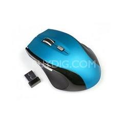 Ergonomic Wireless Mouse - Blue