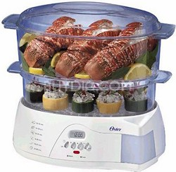 5712 Electronic 2-Tier 6-Quart Food Steamer