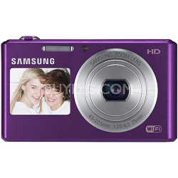 DV150F Dual-View 16.2 MP Smart Camera with Built-in Wi-Fi - Plum