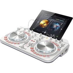 Pro DJ DDJ-WeGO2 DJ Controller - White