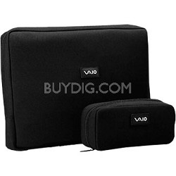 "VAIO VGP-AMC2 Neoprene 17"" Notebook and AC Adapter Cases"