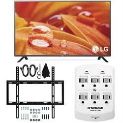32LF595B - 32-Inch 720p LED HD Smart TV w/webOS 2.0 Slim Flat Wall Mount Bundle