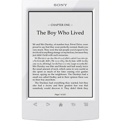 PRS-T2WC 6 inch Touchscreen WiFi eReader - White