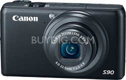 Powershot S90 Digital Camera - REFURBISHED