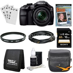 a3000 Interchangeable Lens Digital 20.1MP Camera Starter Bundle