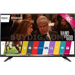 60UF7700 - 60-inch 240Hz 2160p 4K Smart LED UHD TV with WebOS - ***AS IS***