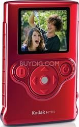 ZM1 Mini Pocket Waterproof Ultra-Thin Video Camera Camcorder (Red)