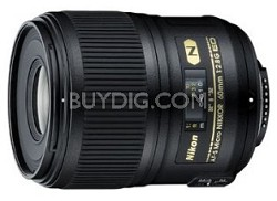AF-S Micro-NIKKOR 60mm f/2.8G ED Lens - OPEN BOX