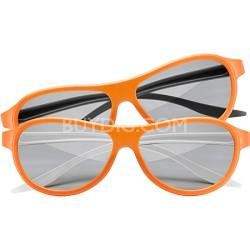 AG-F310DP Cinema Dual Play 2 Pack Gaming 3D Glasses