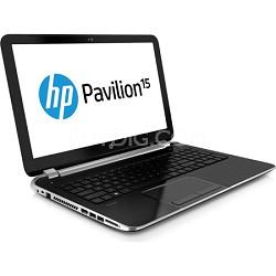 "Pavilion 15.6"" HD LED 15-n010us Notebook PC - AMD Quad-Core A6-5200 Acc. Proc."