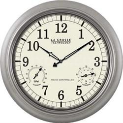 "18"" Atomic Outdoor Clock - WT-3181PL"