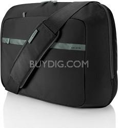 F8N112ttKSG Nylon Case Messenger Laptop - fits 15.6-Inch Notebooks (Black/Soft G