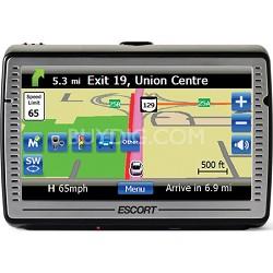 "Passport iQ 5"" Widescreen Portable GPS Navigator with Radar/Laser Detector"