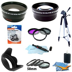 Pro Kit for CANON REBEL (T4i T3i T3 T2i T2 T1i), CANON EOS (7D 60D)