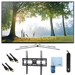 """UN50H6350 - 50"""" HD 1080p Smart HDTV 120Hz with Wi-Fi Plus Mount & Hook-Up Bundle"""