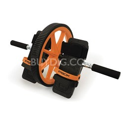 P90X Hard Core AB Wheel with Foot Straps and Hand Grips