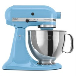 Artisan Series 5-Quart Tilt-Head Stand Mixer in Crystal Blue - KSM150PSCL
