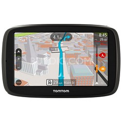 "GO 50 S Portable 5"" Inch Touch Screen Vehicle GPS with 3D Maps"