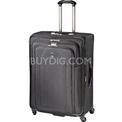 """Crew 9 29"""" Expandable Spinner Suiter Suitcase Luggage - 407126901 (Black)"""