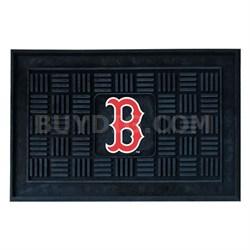 MLB Boston Red Sox Vinyl Heavy Duty Door Mat