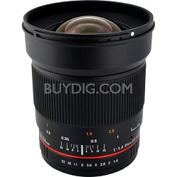 24mm F1.4 Wide-Angle UMC Lens for Olympus 4/3