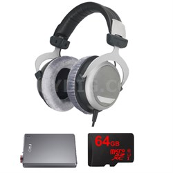 DT 880 Premium Headphones 600 OHM w/ FiiO A5 Amp Bundle