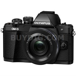 OM-D E-M10 Mark II Mirrorless Digital Camera w/ 14-42mm EZ Lens (Black)