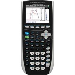 Plus Graphing Calculator in Silver - 84PLSEC/TBL/1L1/L