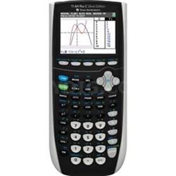 Plus Graphing Calculator in Silver - 84PLSEC/TBL/1L1/L