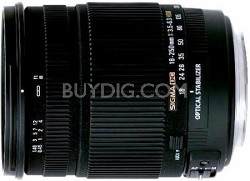 Sigma 18-250mm F3.5-6.3 DC OS HSM Lens for Nikon AF w/ 72mm Filter