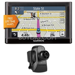 "nuvi 52LM 5.0"" GPS Navigation System with Lifetime Map Updates Vent Mount Bundle"